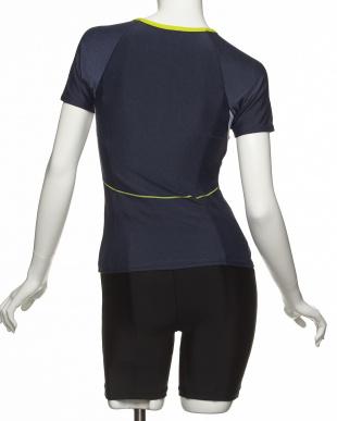 サンドインディゴ×ライム  スリマー半袖ビセパレーツ|WOMEN見る