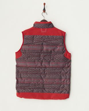 Red  Thirteen Lupus Down Vest見る