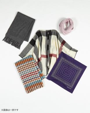 HAPPY BAG A 3万円相当★冬に使えるあったかストール&スカーフ5点入り見る