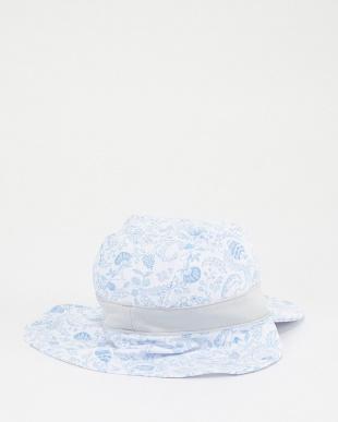 ブルー KIDS プリントネックカバー CAP│UNISEX見る