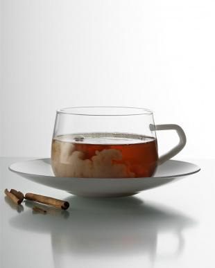 TEA (チャイ)ティーカップ&ソーサー 2個セット見る