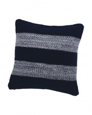 Stitch Stripe  クッションカバー(ローゲージ) 45×45cm見る