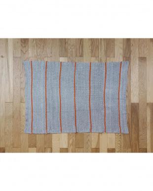 Baisley stripe  ブランケット(ローゲージ) 70×100cm見る