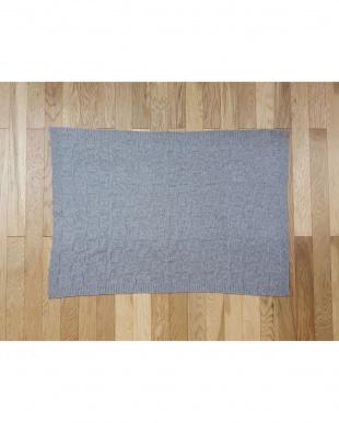 Square Checks  ブランケット(ウール混) 70×100cm見る