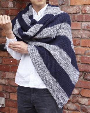 Stitch Stripe スローケット(ローゲージ) 125×150cm見る