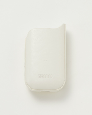 white+gold  SPIKE STUDS iQOS CASE見る