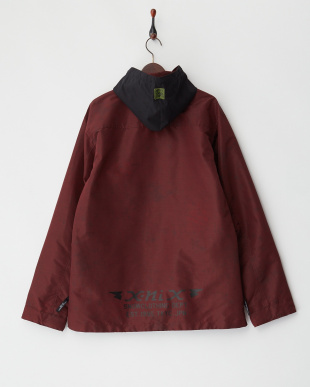 ボルドー  Fatigue Shirts Jacket│MEN見る