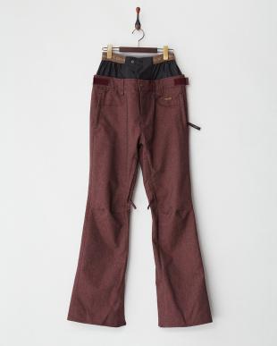 ボルドー  XG-Denim Pants│WOMEN見る