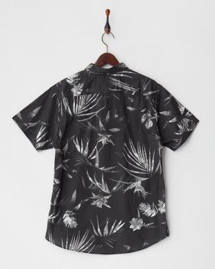 ブラック EVERYDAY PRINT SS ショートスリーブプリントシャツ見る