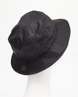 ブラック  PACKABLE HAT ハット見る
