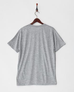 グレー  MW LIFE SS シンプルロゴ速乾サーフTシャツ見る