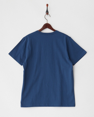 ネイビー  BLOCKED ST カラーブロックロゴTシャツ見る