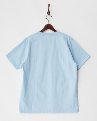 ライトブルー  PELHAM CREW ST ベーシックポケットTシャツ見る