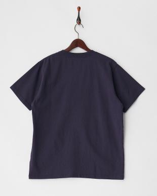 ネイビー  PELHAM CREW ST ベーシックポケットTシャツ見る
