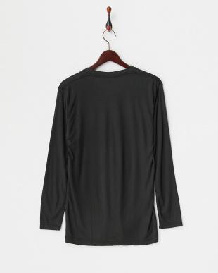 BK  B.V.D. 吸湿発熱 HEAT BIZ 中厚タイプ クルーネック長袖Tシャツ見る