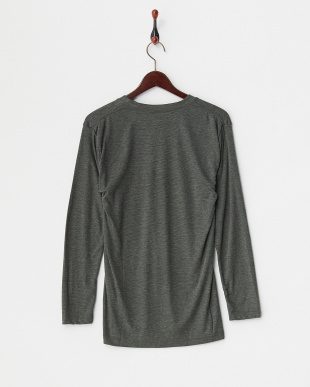 GR  B.V.D. 吸湿発熱 HEAT BIZ 中厚タイプ クルーネック長袖Tシャツ見る