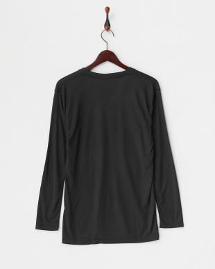 BK  B.V.D. 吸湿発熱 HEAT BIZ 中厚タイプ Vネック長袖Tシャツ見る