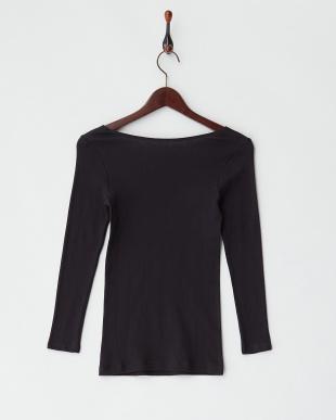 BK 綿100% 綿暖 8分袖シャツ見る