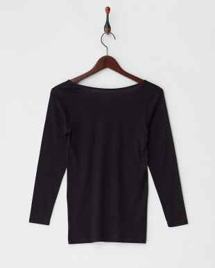 BK  甘撚綿100% 8分袖シャツ見る