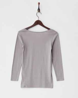 GR  甘撚綿100% 8分袖シャツ見る