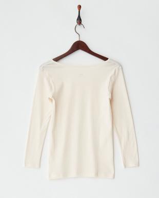 LBE  甘撚綿100% 8分袖シャツ見る
