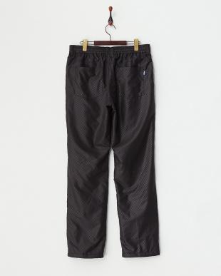 BK  メンズ チェッカー柄中綿パンツ|MEN見る