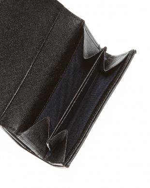 グリーン  クィーンチェック 二つ折り財布見る