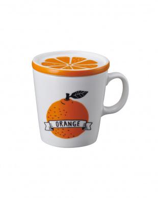 ORANGE DAILY  フルーツマグカップ 2個セット見る