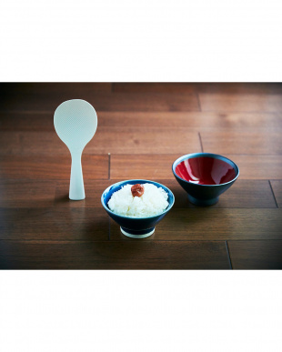 ブルー×レッド 日本製 美濃焼 スリックボウル 2個セット見る