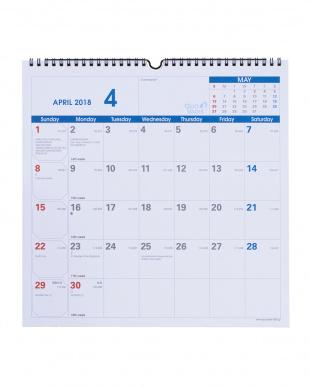 クオバディス2018年版カレンダー 卓上&壁掛けタイプ≪2点セット≫見る