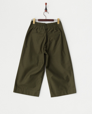 OLIVE  F/TUCKED WIDE PANTS見る