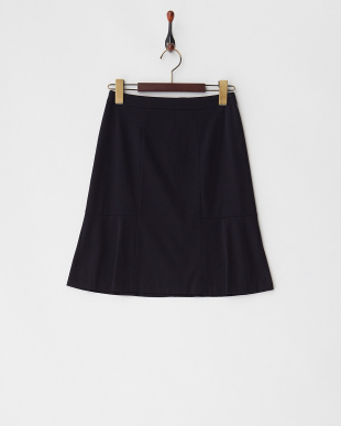 ネイビー ロザージュジャージースカート見る