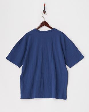 ブルー  USAコットンビッグTシャツ見る