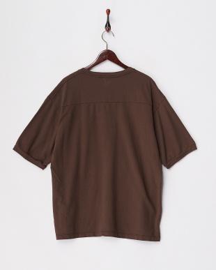 ブラウン  リラックスフィットスウェットTシャツ見る