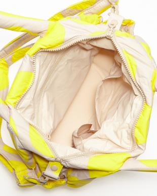 POP DOT-beige Yellow  3-WAY Tote見る