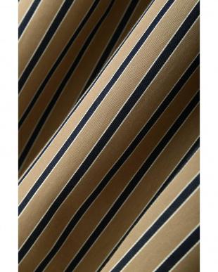 ベージュ [WEB限定商品]マルチストライプフィッシュテールスカート 22 OCTOBRE見る