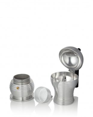 ブラック Pulcina エスプレッソコーヒーメーカー 6カップ用(300mL)見る