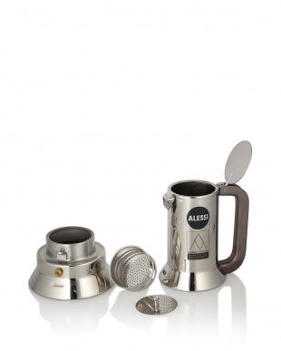 9090 エスプレッソコーヒーメーカー 3カップ用(150mL)見る