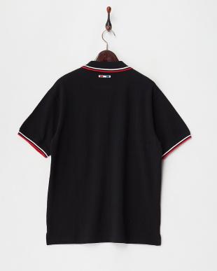 98/無彩色I(ブラック)  エンブレム刺繍ポロシャツ見る