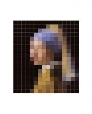 ウォールピクチャー ピクセルパールイヤリング 160×180cm見る