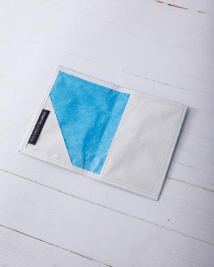 ブルー GREENWOOD×MILESTO パスポートケース見る