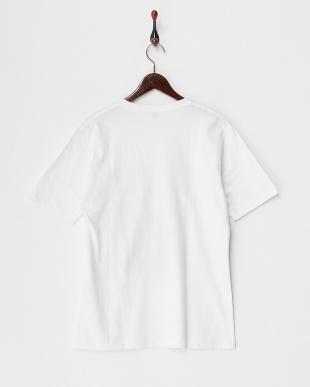 ホワイト  フォトプリントTシャツ見る