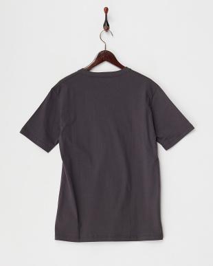 ダークグレー  フォトプリントTシャツ見る