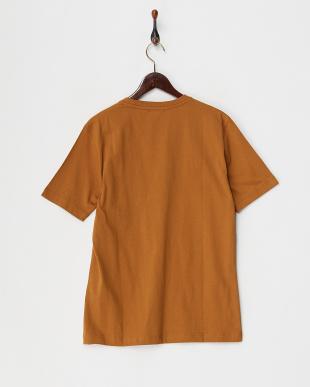マスタード  ストライプポケットTシャツ見る