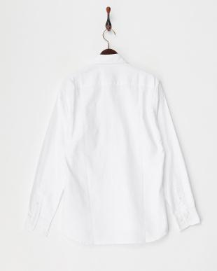 ホワイト  オックスフォードシャツ見る