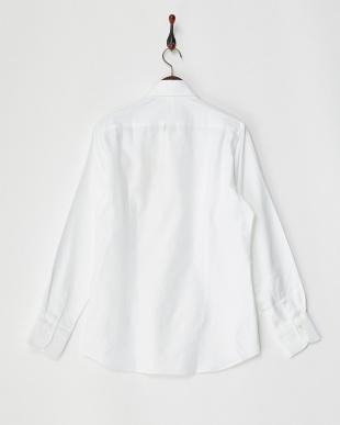 ホワイト1  ホワイトドビーシャツ MEN見る