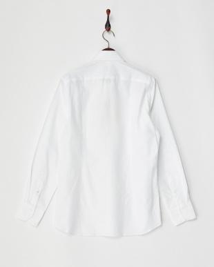 ホワイト2  ホワイトドビーシャツ MEN見る