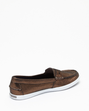 BRNZ SHM MTTL L  NANTUCKET LOAFER II見る