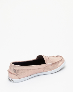 PNK SHMR MTL/OP  NANTUCKET LOAFER II見る
