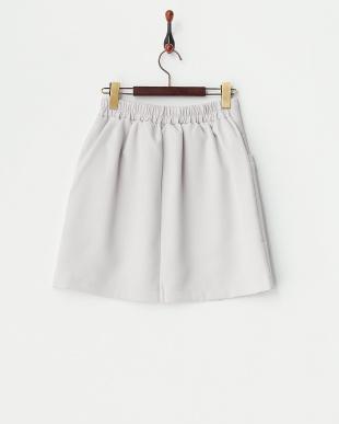 グレー  ブッチャー無地台形スカート見る